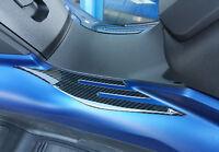 2 ADESIVI 3D PROTEZIONE PEDANE LATERALI compatibili scooter kymco XCITING S 400i