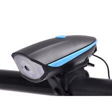 Electronic Horn Mountain Bike Headlights Super Bright Bike Light Set with Horn