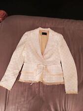 Authentic RENA LANGE woman yellow jacket size US 6 It 40 - Amazing!
