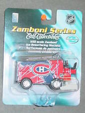 NHL Die Cast Zomboni, Montreal Canadiens, NEW