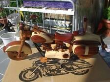 schönes Holzmodell VESPA Modell , Harley Motorrad Modell, Handarbeit TOP
