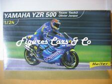 MAQUETTE MOTO 1/24 OLIVIER JACQUE YAMAHA YZR 500 -2002