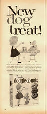 1950's Vintage ad for French's Doggie do-nuts/Cute Poodle (051013)