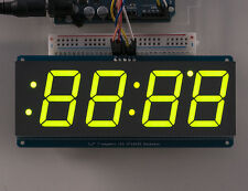 "Adafruit 1.2"" 4-Digit 7-Segment Display w/I2C Backpack- Green"