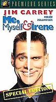 Me, Myself  Irene (VHS, 2001, Special Edition) Jim Carrey