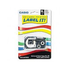 Casio Label Printer Iron-On Transfer Tape - XR118BKS