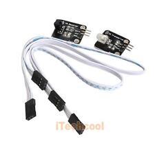2PCS Digital 38KHz Infrared IR Sensor Transmitter Kit for Arduino Black