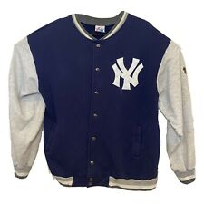 Vintage New York Yankees Jacket Large With 1996 World Series Patch