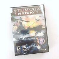 Battlestations Midway PC Combat Sim New Sealed