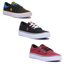 Dc Shoes Trase Tx Junior Canvas Trainers In Various Colours Uk Sizes 3 - 6.5