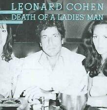 LEONARD COHEN DEATH OF A LADIES MAN CD NEW