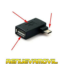 Adaptador Universal Micro USB OTG con Alimentación USB Snes Movil Android Tablet