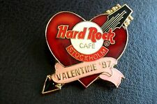 HRC Hard Rock Cafe Stockholm Valentines Day 1997 Heart LE750