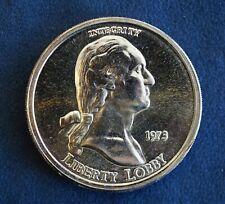 1973 Liberty Lobby 1oz .999 Fine Silver Coin - Free Shipping USA