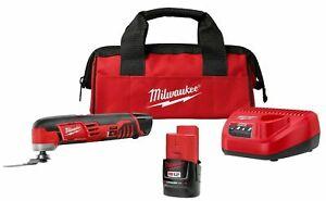New Milwaukee M12 Lithium-Ion Oscillating Multi-Tool Kit 2426-20