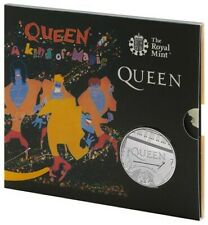 Queen - A Kind of Magic - 5 Pound Uncirculated Coin - 25,000 made -Free Shipping