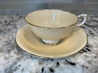 Vintage Paragon Fine Bone China England Tea Cup And Saucer Queen Mary