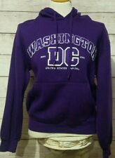 I Love DC Women's Washington DC Hoodie Hooded Sweatshirt Size Medium Purple
