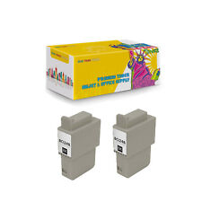 2Pcs BCI-21B BCI-24B Black Compatible Ink Cartridge for Canon BJCAN-4000