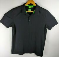 Hugo Boss Mens Polo Shirt Green Label Modern Fit Sz Medium