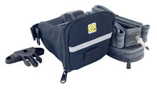 EIGO QR Strap-Fix Stash Pack + Inner Tube 2-Pack 700C x 25/32c 40mm Presta Valve