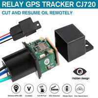 CJ720 Car hide Tracking Relay GLONASS GPS Tracker Device Locator Remote  e