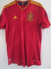 Spain 2011-2012 Home Football Shirt Size Large /41808