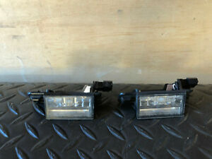 BMW E36 M3 S52 OEM REAR TRUNK LID HATCH GATE LICENSE PLATE DOME VIEW LAMP LIGHT
