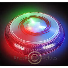 """10"""" Light-Up LED Flying Disc Fun Novelty Play Game Party Game Playing Frisbie"""