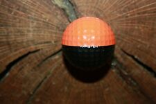 VINTAGE BLACK AND ORANGE PING GOLF BALL MUST SEE!!! RARE!!!