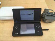 NINTENDO DS Black with charger and stylus and case
