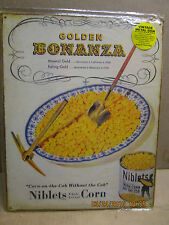 General Mills Green Giant 2003 advertising tin sign Niblets Whole Kernel Corn