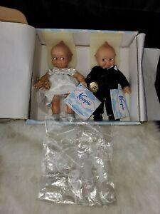 "Going to the Chapel Bride and Groom Wedding Vinyl Kewpie 8"""