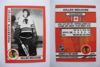 2015 SCA Gilles Meloche Chicago Blackhawks goalie never issued produced #d/10