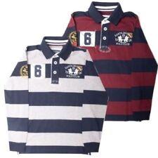 Camisetas de niño de 2 a 16 años de color principal azul 100% algodón