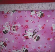 "Quilt, Sew, Fabric Kit Simplicity 44"" x 53"" Glitter Cats"
