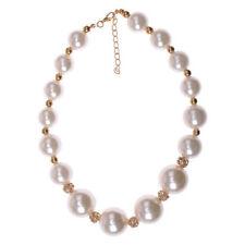Halsketten und Anhänger mit Perlmutt Edelsteine
