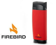 Firebird Fusion Red Slim Cigar Torch Lighter Butane by Colibri ~New~