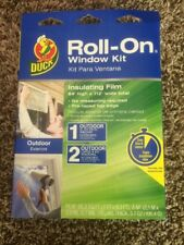 Duck Roll-on Shrink Film Insulation Kit (Outdoor) 65.3SQ FT(7 FT X 9.3 FT)