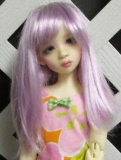 "Doll Wig, Monique Gold ""Misty"" Size 6/7 in Light Purple"