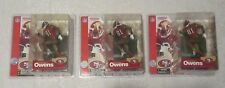 McFarlane NFL Series 4 Terrell Owens Chase Variant Red Jersey 49ers Lot of 3