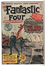 Marvel Comics 6.5 FN+ FANTASTIC FOUR 13 The Red Ghost 1st Watcher Guardians