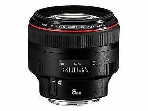 Canon EF 85mm F/1.2 L II USM Lens