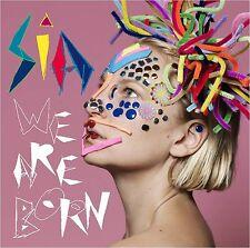 SIA: WE ARE BORN 2010 CD NEW