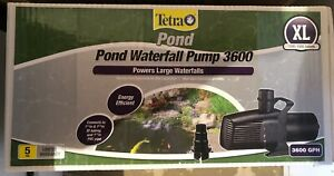 Tetra HCP3600 High Capacity Pond & Waterfall Pump, 3600 GPH