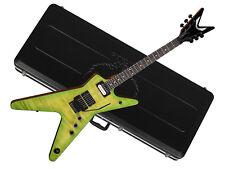 DEAN Dime Slime ML electric GUITAR new w/ Molded CASE- DIMEBAG - Green - FLOYD