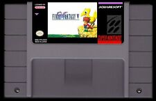 Final Fantasy 5 Super Nintendo Snes English Translated Game Fan Made V