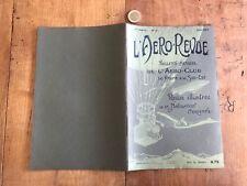 l aero revue numéro 6 1907