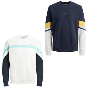 Jack & Jones Originals Sweater Summer Block Jumper Sweatshirt Mens JORMalte