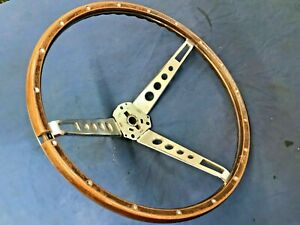 Original 1965 1966 Ford Mustang Shelby Deluxe Steering Wheel 65 66
